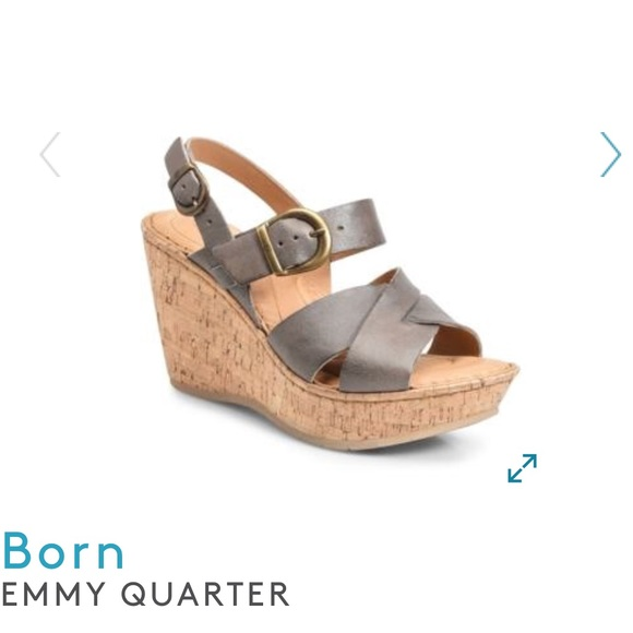 67a0d2bf3f3 Born Emmy Wedge Sandal 11
